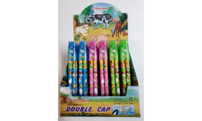 Novelty Pop A Point Double Set Pen & Pencil