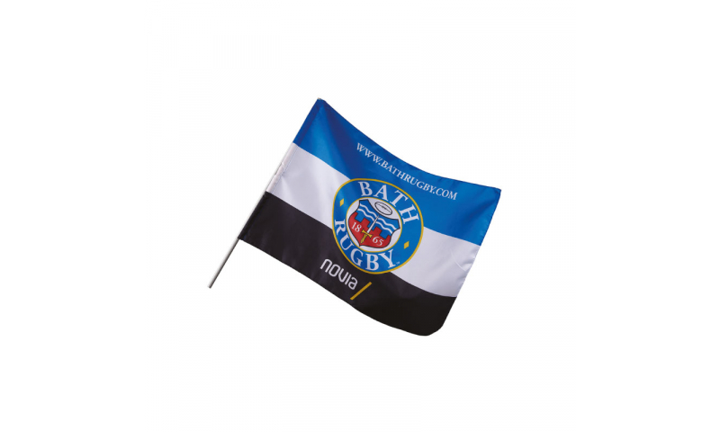 Hand Held Supporter Flag, 40x30cm, with Window clip, Fully Bespoke Design