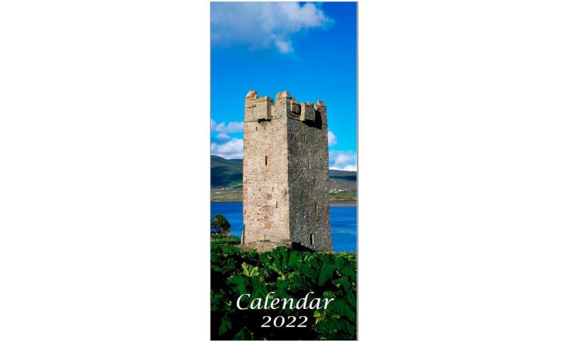 Ireland Slim Portrait Pictoral Calendar 2022