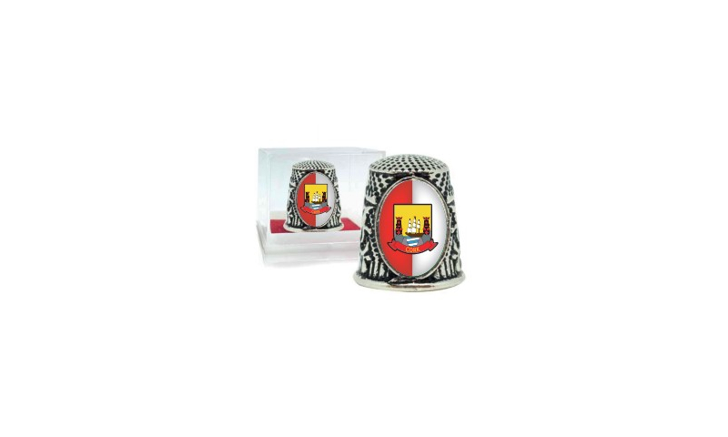 Cork  Crest Thimble in Blister Asstd Designs