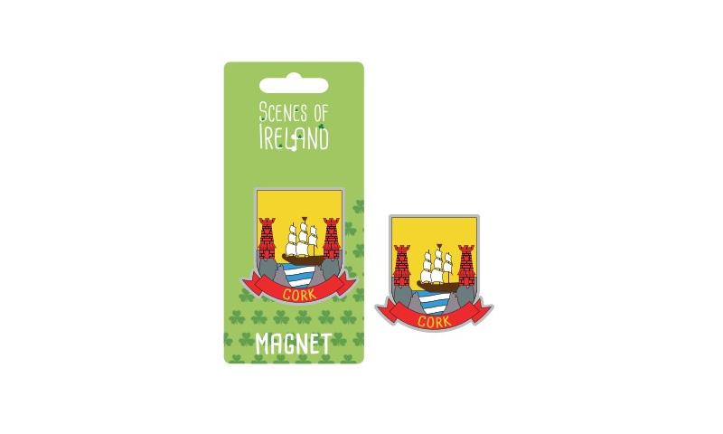 Cork County Crest Magnet