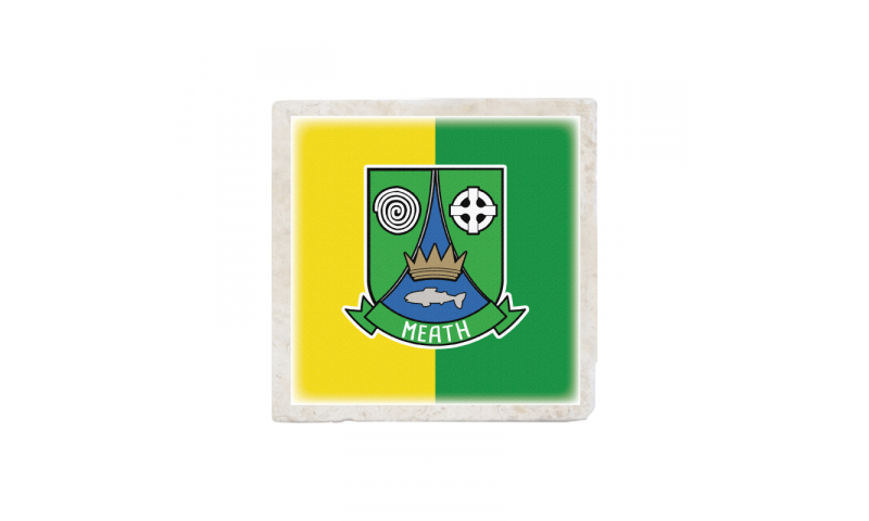 Meath Crest Stone Coaster