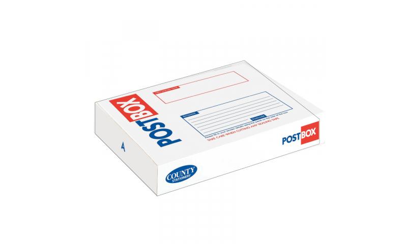 County Stationery Post Box Flat Rectangle 445x350x75mm