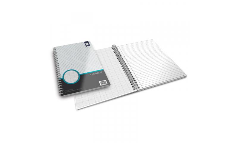 Standard Books  A4 Wiro bound Lab Book, Graph / Feint Ruled