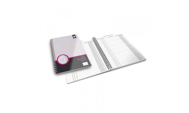 Standard Books  A4 Wiro bound Phone-in Record Book
