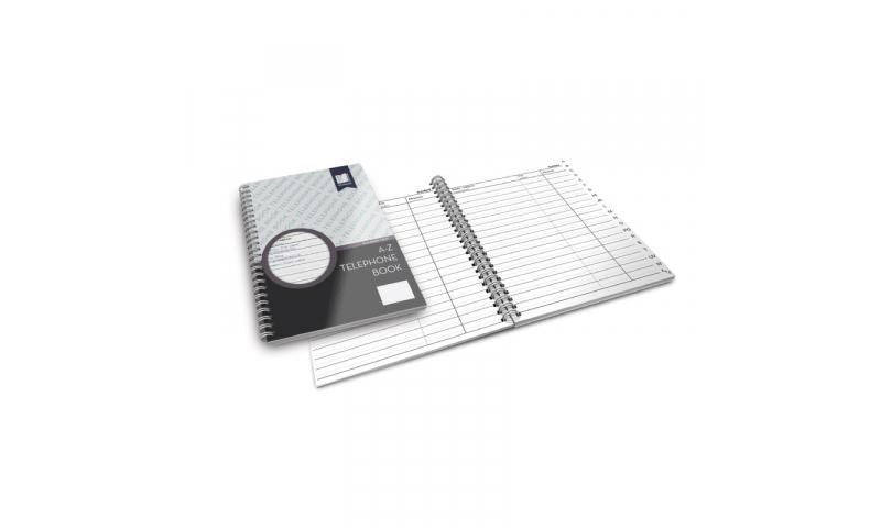 Standard Books  A5 Wiro bound Telephone Index Book