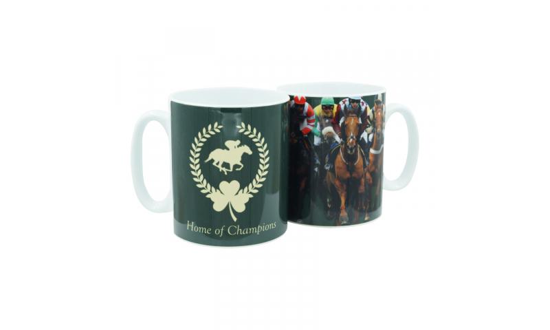Thoroughbred Ireland Ceramic Mug - Home of Champions