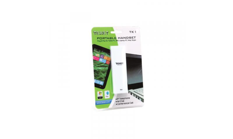 Texet Portable Phone Handset - Skype (New Lower Price for 2021)