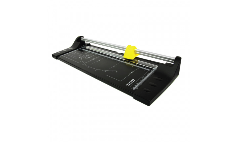 Texet A3 Desk Trimmer, 12 Sheet Capacity, Metal Base (New Lower Price for 2021)