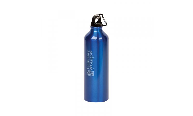 Aluminium 500ml Drinking Flask, 1 Col Print inc.