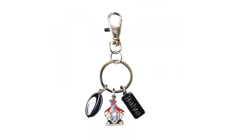 Metal Charm Keyring - Soft Enamel Full Bespoke Design