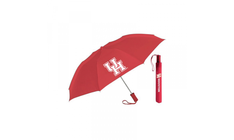 Folding Umbrella with sleeve, 1 color print on x2 Panels ****