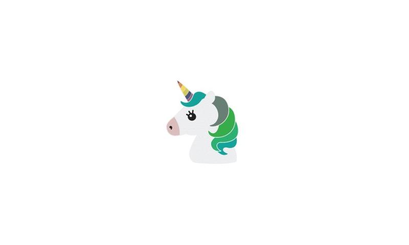 Unicorn Ireland Shaped Eraser