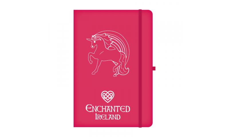 Unicorn Ireland A5 Hardback Notebook