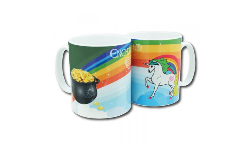Unicorn Ireland Ceramic Mug Green