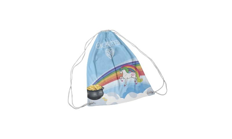 Unicorn Ireland Drawstring Bag