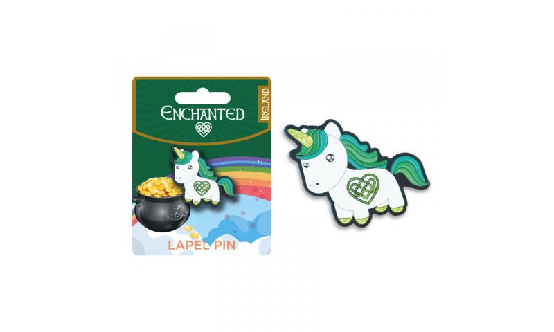 Unicorn Ireland  Lapel Pin