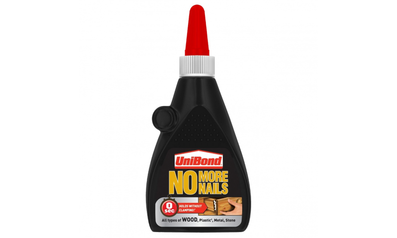 UNIBOND No More Nails - Wood Glue 120g carded (New Lower Price for 2021)
