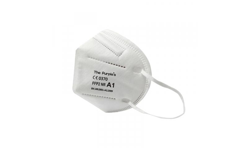 FFP2 NR D MEDICAL Disposable Fold Flat Respirator mask without valve EN149: 2001+ A1: 2009, 25pk