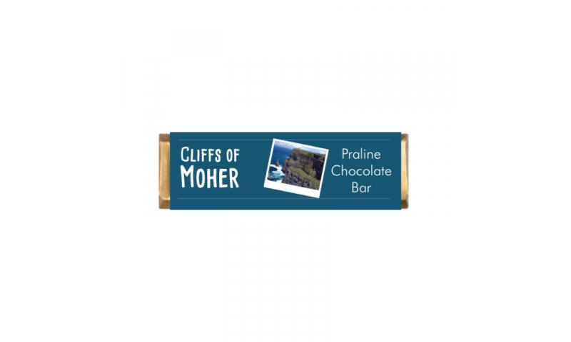 70g Hazelnut Praline Chocolate Bar > Bespoke Branded 4 sides