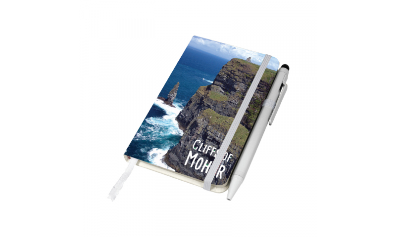 A6 Notebook with Full Colour Branding to front