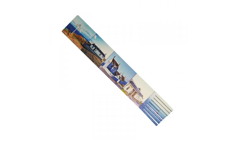 Leatherboard Bookmark, Full Colour Print