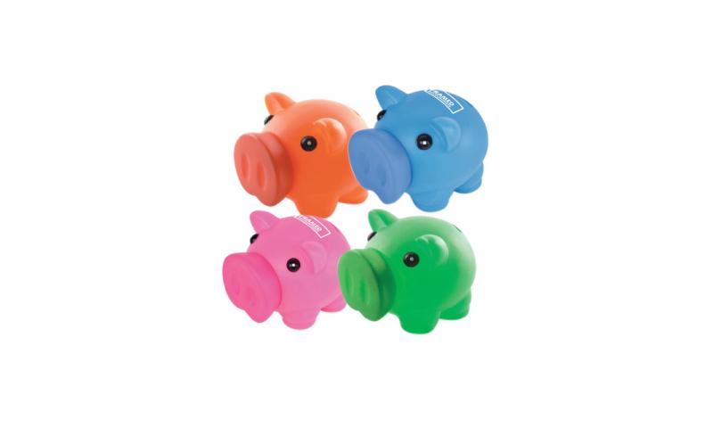ZEST Soft Feel Piggy Bank, 1 Col Print inc.