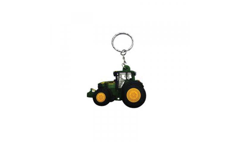 Bespoke Rubber Tractor Keyring