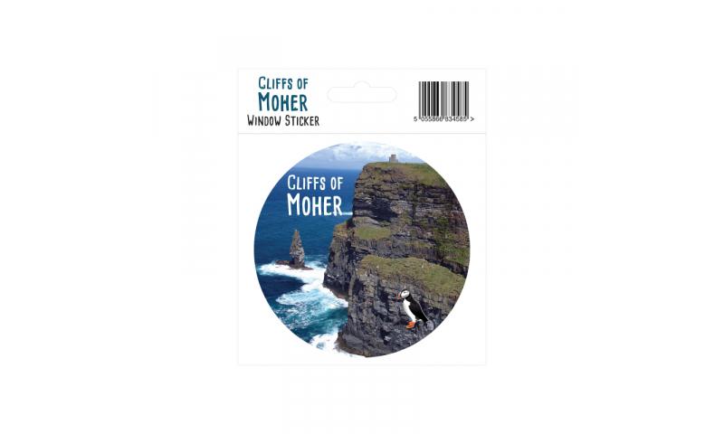 Cliffs of Moher Window Sticker
