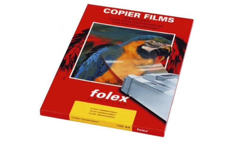 Folex X10.0 A3 Size, Mono Copier Transparency, Single Sheet Feed, 50 Sheet