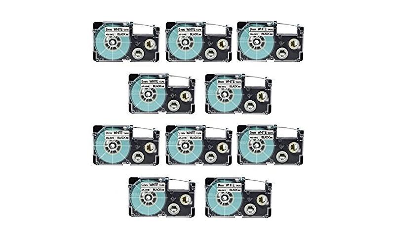 Casio Label Printer tape - 24mm Black on White