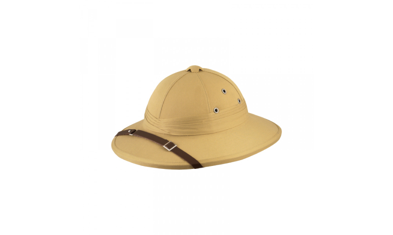 Vented Safari Explorer Hat, Adult sizes with 1 colour print on peak