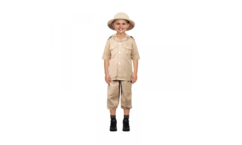 Childrens Safari Explorer Dress up Set Bespoke Packaging *