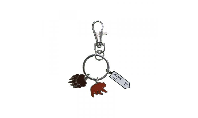 Metal Trinket Keyring - Soft Enamel Full Bespoke Design