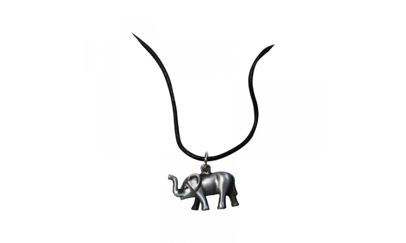 Bespoke Metal 3D Shaped solid necklace trinket, & quality cord necklace