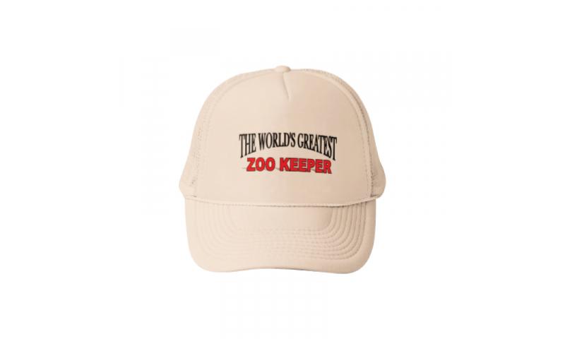 Safari beige Baseball cap, 1 Col Print to front inc.