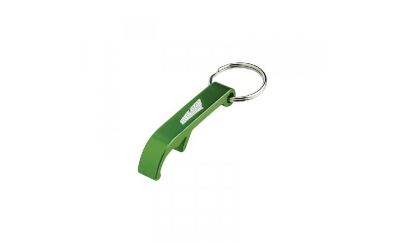Ireland Metal Bottle Opener Green - Hangcarded